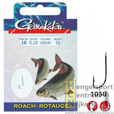 Gamakatsu hakenboekje voorn LS1050 70 cm