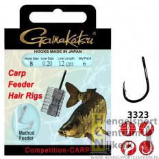 Gamakatsu Hakenboekje 3323B Feeder Hairrigs 12 cm