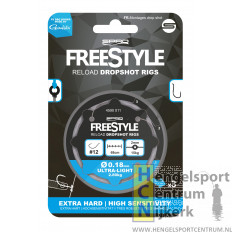 Spro freestyle reload dropshot rig