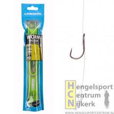 Cresta onderlijnen worm riggers + easy stop