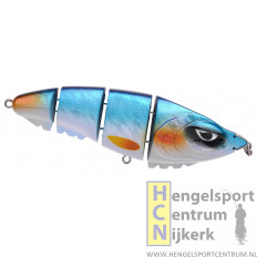 Spro plug screaming quatro devil 15 cm BLUE SHINER