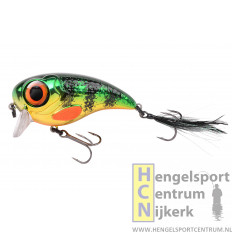 Spro plug Fat Iris 8 cm CHROME PERCH