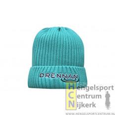 Drennan muts knitted beanie aqua