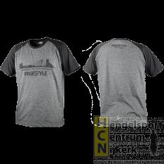 Spro freestyle t-shirt grijs/zwart