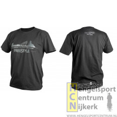 Spro freestyle t-shirt zwart