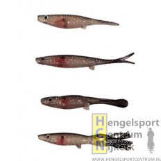 Predox Shad Dropshot Ribtail 7 cm BLEEDING BELLY