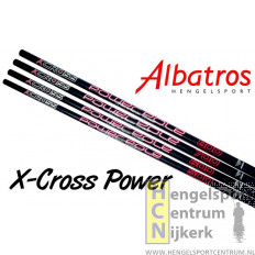 Albatros x-cross power insteekhengel 8 meter