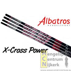 Albatros x-cross power insteekhengel 8 meter