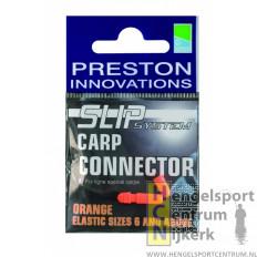 Preston slip carp connector oranje