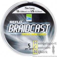 Preston reflo braidcast - tapered leaders