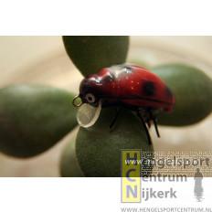 Microbait plug Ladybird Red