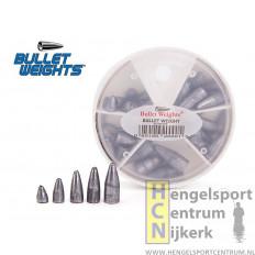 Camo bullet weights 35 stuks