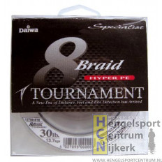 Daiwa 8x braid tournament gevlochten lijn 135 meter
