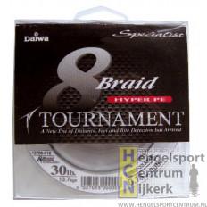 Daiwa 8x braid tournament gevlochten lijn 135 meter