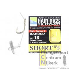 Preston Hair Rigs Short 15 cm