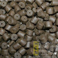 Evezet Black Halibut Pellets met gat