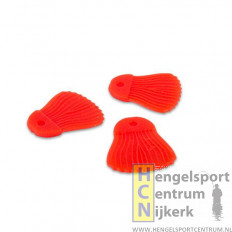 Fox predator bait fins rood