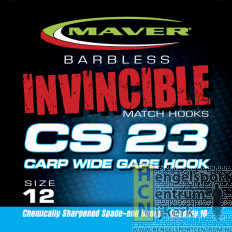Maver haak CS 23 Carp Wide Gape Hook