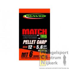 Maver Hakenboekje Pellet Carp
