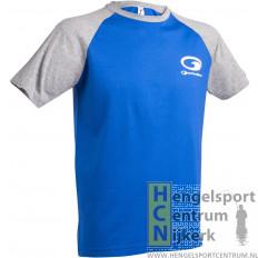 Garbolino t-shirt blauw/grijs