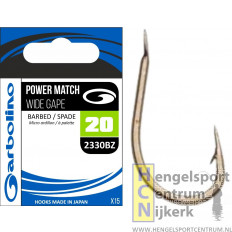 Garbolino haak power match wide gape