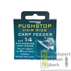 Drennan onderlijn pushstop hairrig carp feeder