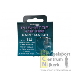 Drennan onderlijn pushstop hairrig carp match