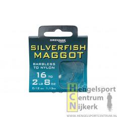 Drennan onderlijn barbless silverfish maggot