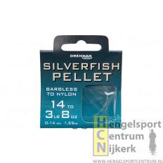 Drennan onderlijn barbless silverfish pellet