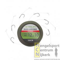 Korum onderlijnen river hair rigs 100 cm