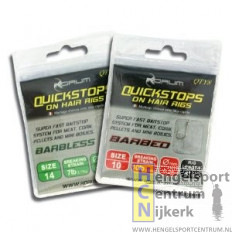 Korum Barbless Quickstops On Hair Rigs 10 cm