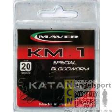 Maver Katana haken KM 1 special bloodworm