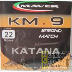 Maver Katana haken KM 9 strong match