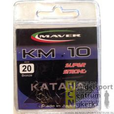 Maver Katana haken KM 10 super strong