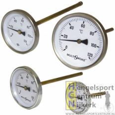Multismoke temperatuurmeter extra lang