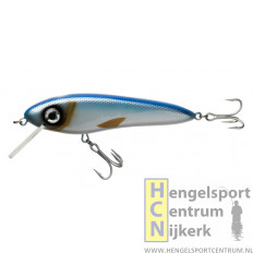 Abu Svartzonker MC CELLY 14 cm (drijvend) plug BLUE SILVER