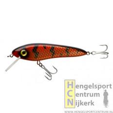 Abu Svartzonker MC Celly 14 cm (drijvend) plug RED BLACK