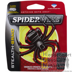 Spiderwire New Stealth Gevlochten Lijn Yellow