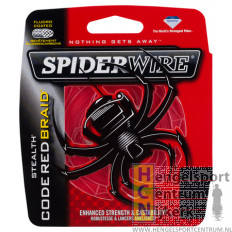 Spiderwire New Stealth Gevlochten Lijn Code Red
