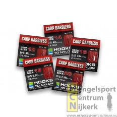 Preston Carp Barbless Onderlijnenboekje
