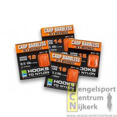 Preston Carp Barbless Extra Strong Onderlijnenboekje