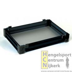 Rive F2 lade aluminium zwart 6 cm