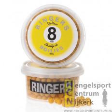 Ringers Boilies Geel 8 mm
