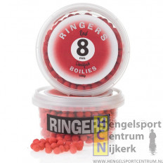 Ringers Boilies Rood 8 mm