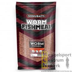Sonubaits worm fishmeal groundbait 2 kg