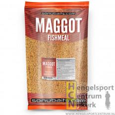 Sonubaits maggot fishmeal groundbait 2 kg