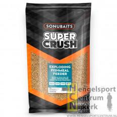 Sonubaits super crush exploding fishmeal feeder 2 kg