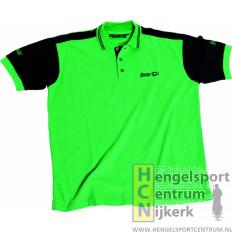 Sensas polo shirt groen en zwart
