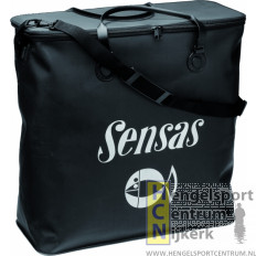 Sensas leefnettas waterdicht vierkant zwart XL