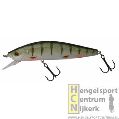 Gunki Zigra 130F (drijvend) plug GREEN PERCH